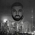 Drake 6 God by Nicholas Legault
