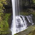 Drake Falls In Silver Falls State Park by John McGraw