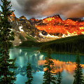 Drama Of The Canadian Rockies by Bob Christopher
