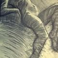 Dramatic 5 - Female Nude  by Carmen Tyrrell