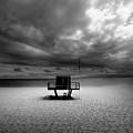 Dramatic Beach by Marc Huebner
