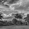 Dramatic Clouds Over Maui by Frank DiMarco