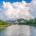 Dramatic Clouds Over Salzburg by JR Photography