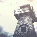 Dramatic Lighthouse by Edward Fielding