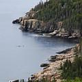 Dramatic Maine Coastline by Brian Kamprath