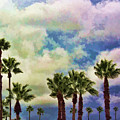 Dramatic Palms by Arline Wagner