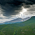 Dramatic Skies In Rocky Mountain National Park Colorado by Brendan Reals