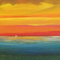 Dramatic Sky Beach by Alicia Maury
