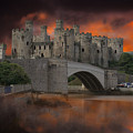 Dramatic Sky Over Castell Conwy by MSVRVisual Rawshutterbug