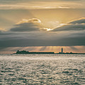 Dramatic Sky Over Hurst Castle by Clayton Bastiani