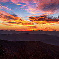 Dramatic Sunrise In The Great Smoky Mountains by Teri Virbickis