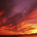 Dramatic Sunset by Larry Dale Gordon - Printscapes