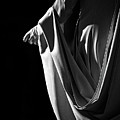 Draped B-w by Christopher Holmes