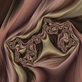Drapes Abstract by Marianna Mills