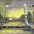 Draw Bridge In Meppel, Holland 2016 by Arthur Barnes