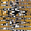 Drawing Composition Abstract by Tom Janca