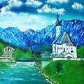 Dream A Little Dream Of Bavaria St Sabastians Church by The GYPSY