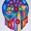 Dream Catcher Abstract by Megan Walsh