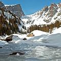Dream Lake Rocky Mountain Park Colorado by James Steele