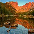 Dream Lake Sunrise by John Vose