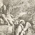Dream Of Aeneas by Salvator Rosa