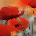 Dream Of Poppies II by Lourry Legarde