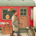 Dream Suitcase by Kestutis Kasparavicius