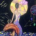 Dreaming Mermaid by Tejsweena Renu Krishan