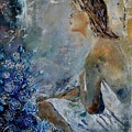 Dreaming Young Girl by Pol Ledent