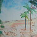 California Beach by Aldonia Bailey