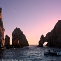 Dreamy Cabo Sunset The Arch by Charlene Cox