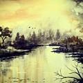 Dreamy Lake by Chapi Dee