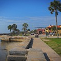 Dreamy St Augustine Florida by Skip Willits