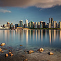 Dreamy Vancouver Cityscape by Pierre Leclerc Photography