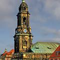 Dresden Kreuzkirche - Church Of The Holy Cross by Christine Till