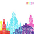 Dresden Skyline Pop by Pablo Romero