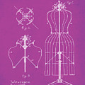 Dress Form Patent 1891 Pink by Bill Cannon
