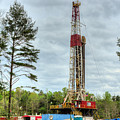 Drilling For Oil In South Alabama by JC Findley