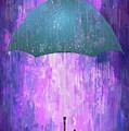 Dripping Poster Purple Rain by Yury Malkov