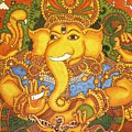 Drishti Ganapathi The Elephant Headed Hindu God Of Good Omens by Anu Edasseri