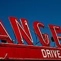 Drive In- California  by April Bielefeldt