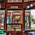 Driver St. Charles Trolley New Orleans by Chuck Kuhn