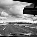driving along the ring road Hringvegur in southern iceland by Joe Fox