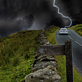 Driving Into The Storm by Martin Newman