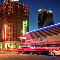 Driving Through Downtown Amarillo Texas  by Gregory Ballos