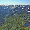 Drone Shot Of Lake Evan by Brandon Larson