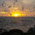 Drops, Sun And Sea by Rodrigo Becerril