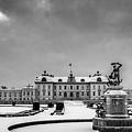 Drottningholm Castle Winter by Mikael Jenei