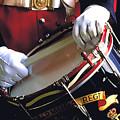 Drummer In Bermuda by Carl Purcell