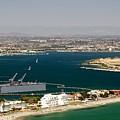 Dry Dock San Diego Bay by Phyllis Spoor
